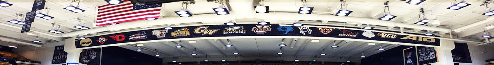 George washington university large banners