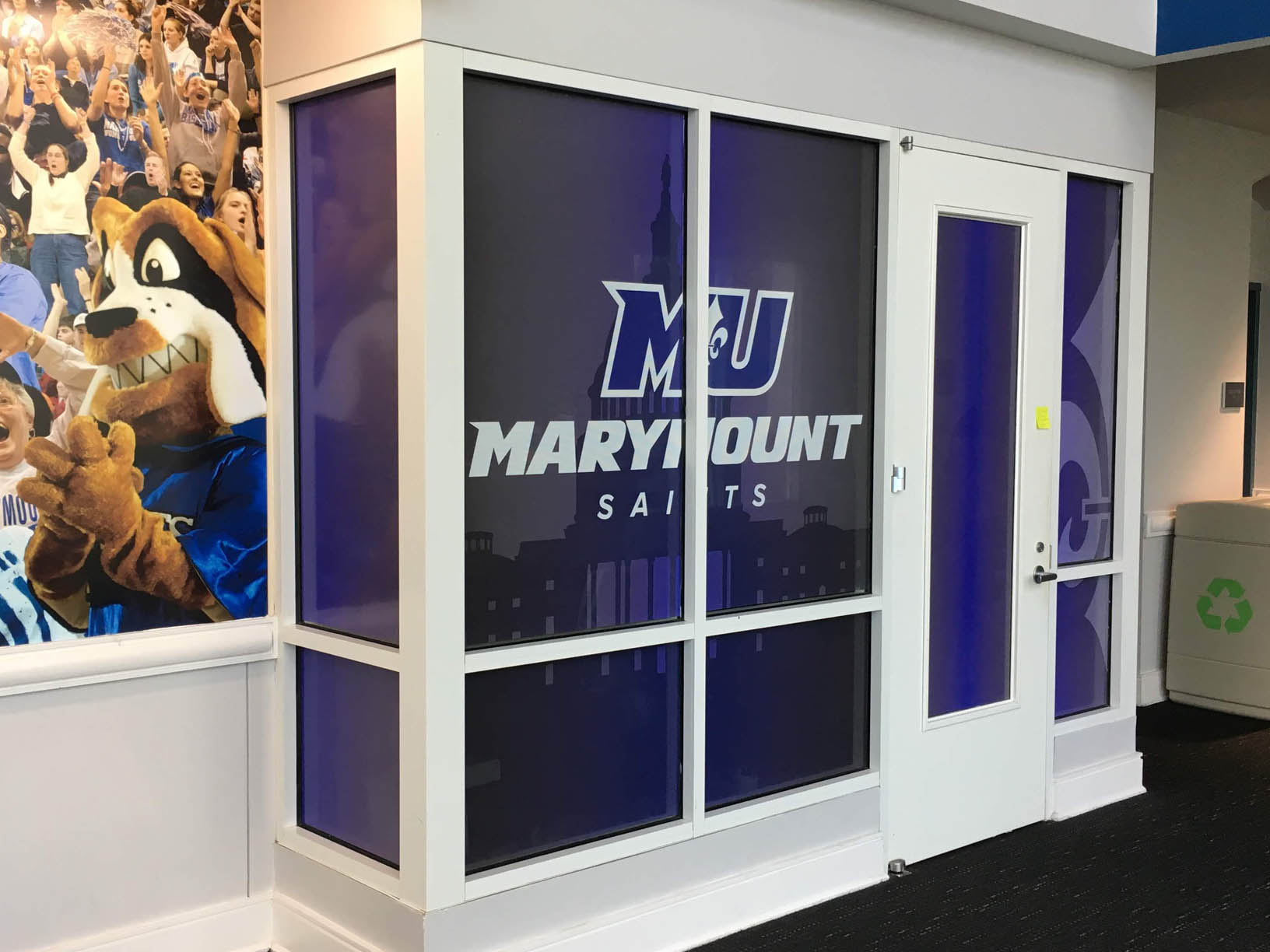 marymount university window graphics