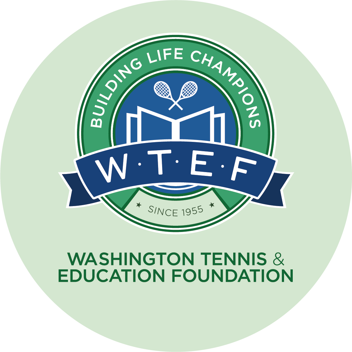 Washington Tennis & Education Foundation logo